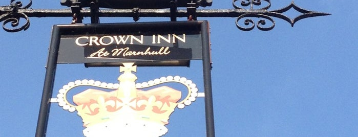 The Crown at Marnhull Inn Sturminster Newton is one of England 1991.