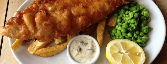 The Old Frizzle is one of Wimbledon Good Food Guide.
