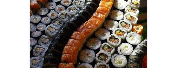 Akinai Sushi is one of Lieux qui ont plu à Flávia.