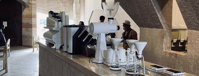 Inner Circle is one of Coffee shops | Riyadh ☕️🖤.