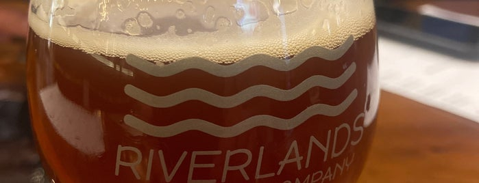 Riverlands Brewing Company is one of ICBG Passport 2019.