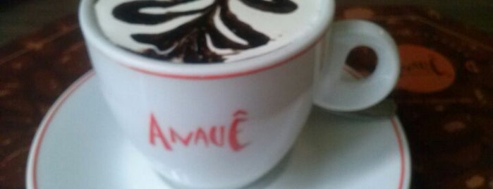 Anauê Café & Gourmet is one of Locais curtidos por Leandro.