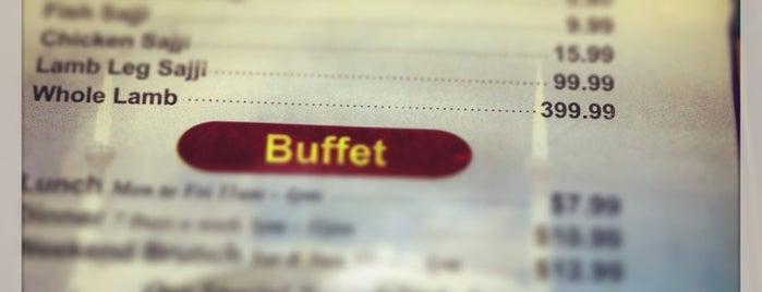 Zaiqa is one of Buffalo Local Restaurant Week.