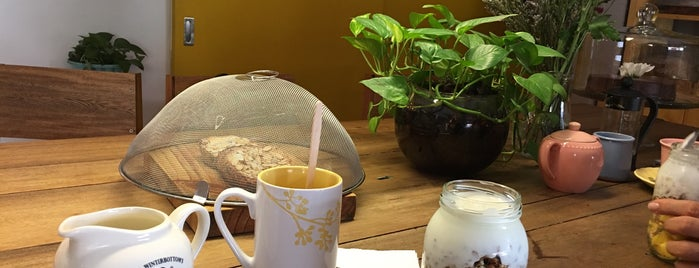 Amarillo Chocolate is one of Medellin cafes.