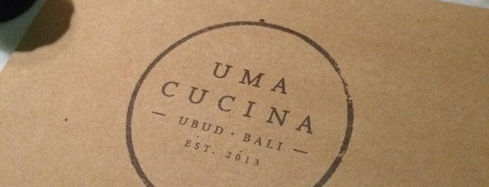 Uma Cucina is one of Где поесть в Убуде.