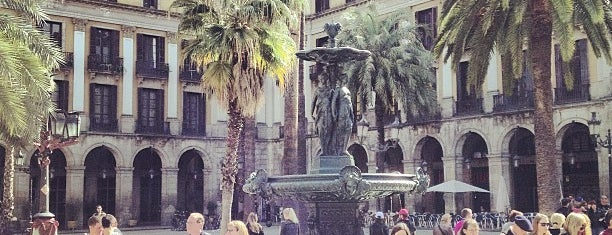 Plaça Reial is one of This is Barcelona!.