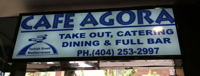 Cafe Agora is one of Favorites.