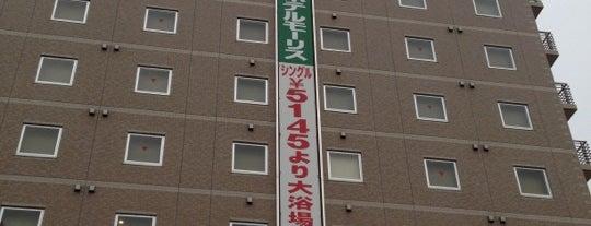 Higashi Hiroshima Green Hotel Morris is one of สถานที่ที่ Shigeo ถูกใจ.
