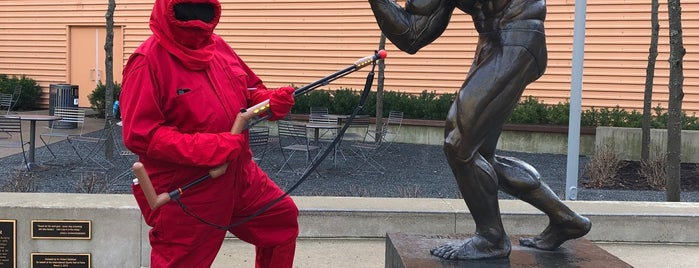 Statue of Arnold Schwarzenegger is one of MIDWEST.