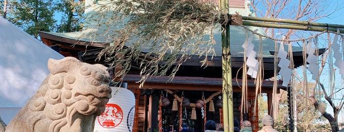 星川杉山神社 is one of สถานที่ที่ Hideo ถูกใจ.
