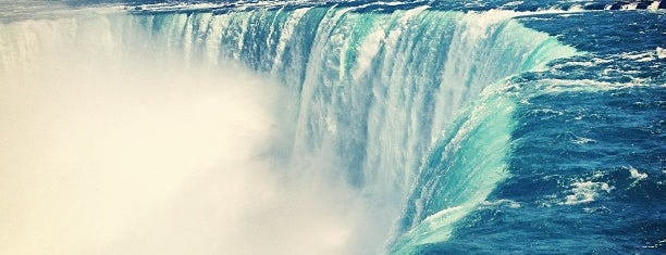 Niagara Falls (Canadian Side) is one of World Heritage Sites List.