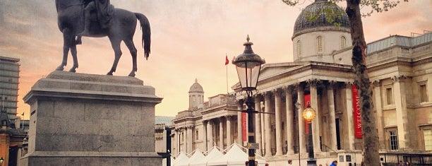 Trafalgar Square is one of London Favorites.