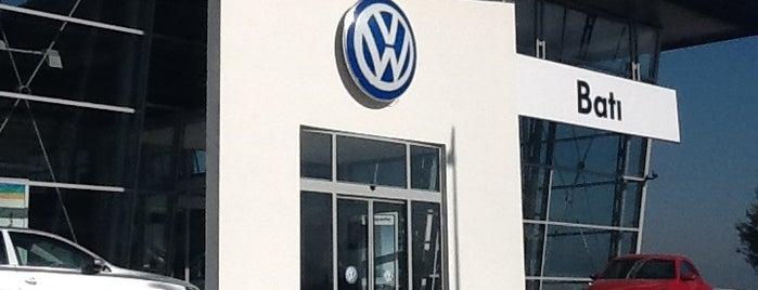 Volkswagen Batı Otomotiv is one of yerlerim.