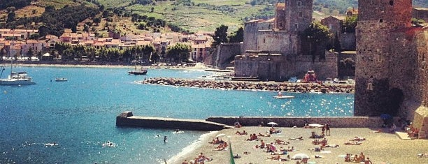 Plage de Port d'Avall is one of Collioure.
