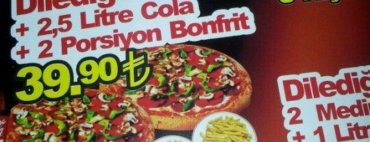 Pizza Mario is one of Konya'da Café ve Yemek Keyfi.