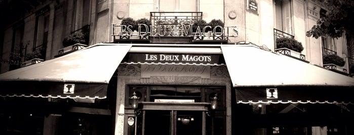 Les Deux Magots is one of Faves.