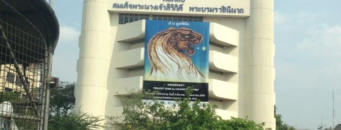 หอศิลป์ สมเด็จพระนางเจ้าสิริกิติ์ พระบรมราชินีนาถ (The Queen's Gallery) is one of Bangkok.