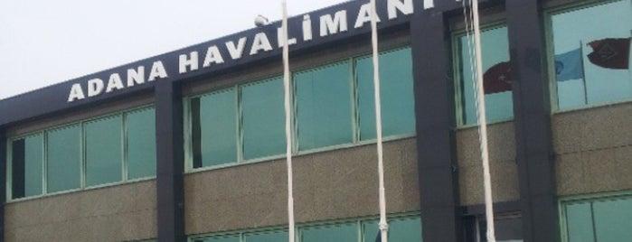 Adana Havalimanı (ADA) is one of Türkiye'de En Çok Check-in Yapılan Mekanlar.