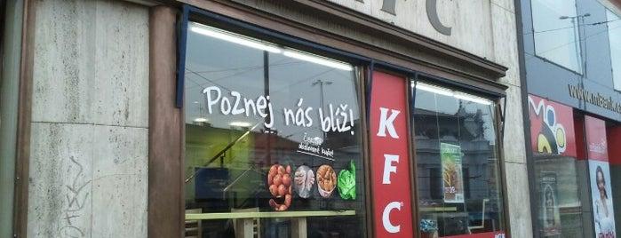KFC is one of Karolína 님이 좋아한 장소.