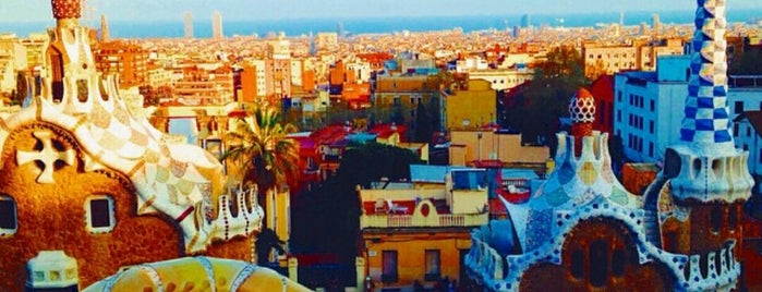 Park Güell is one of A quick trip through Barcelona.