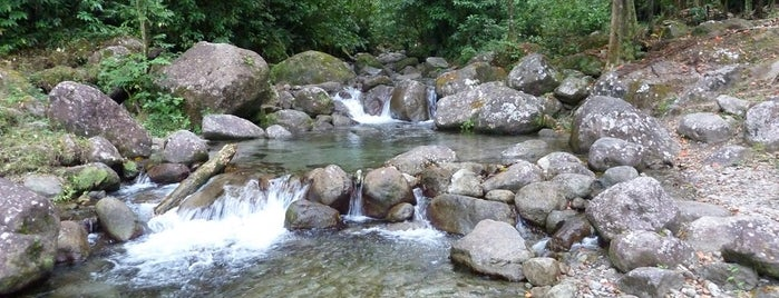 Lieux de baignade en eau douce de Martinique