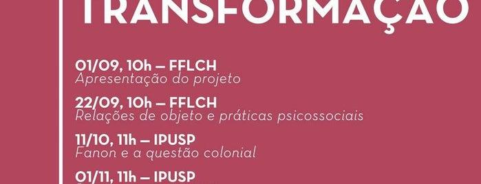 Prédio da Filosofia e Ciências Sociais (FFLCH-USP) is one of SP - lugares (outros).