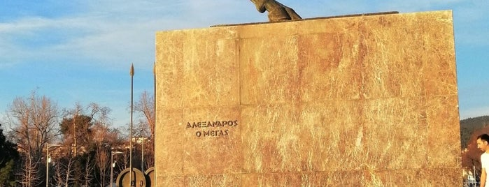 Άγαλμα Μεγάλου Αλεξάνδρου is one of Spiridoulaさんのお気に入りスポット.