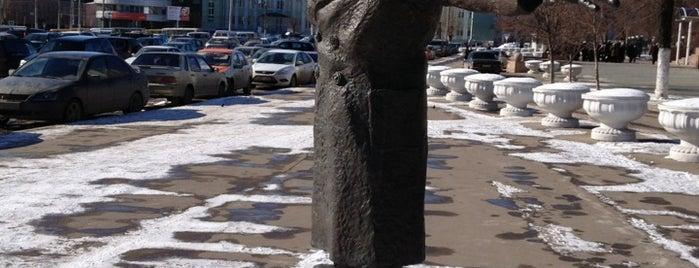 Памятник Юрию Деточкину is one of Самара.