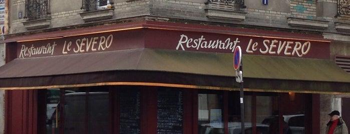 Le Severo is one of Paris.