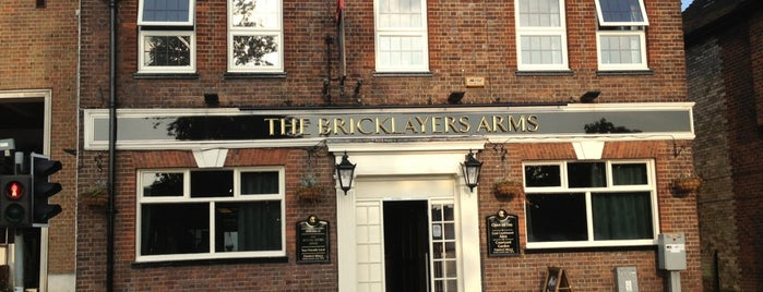 The Bricklayers Arms is one of Locais curtidos por Carl.