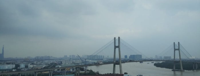 Phu My Bridge is one of Ho Chi Minh City.