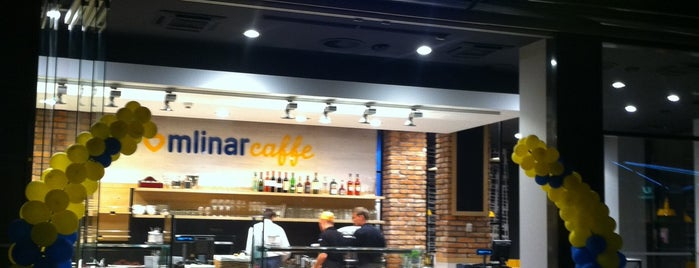 Mlinar Caffe is one of Locais curtidos por Adrian.