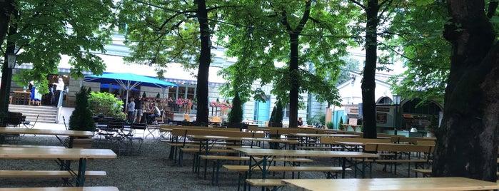 Biergarten Hofbräukeller is one of Bars.