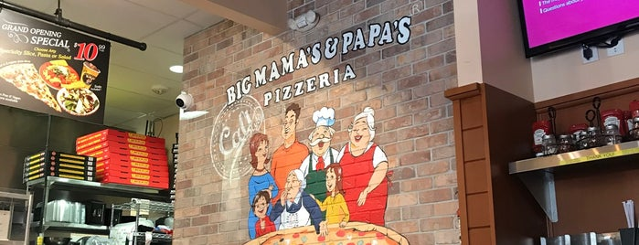 Big Mama's & Papa's Pizza is one of Top.