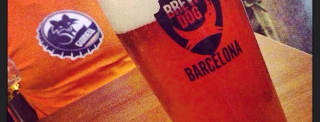 BrewDog Barcelona is one of Barcelona Craft Beer.