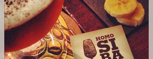 Homo Sibaris is one of Barcelona Craft-Beer Bars.
