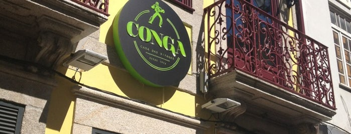Conga - Casa das Bifanas is one of Porto Valentim.