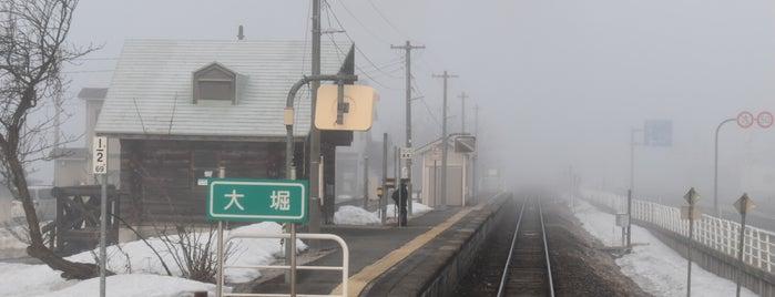Ōhori Station is one of JR 미나미토호쿠지방역 (JR 南東北地方の駅).