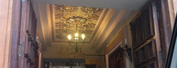 Hotel El Quijote is one of Vivir Mejor.