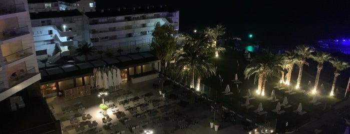 Boyalık Beach Hotel Çim Alan is one of Guclu 님이 좋아한 장소.