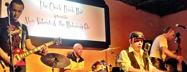 The Clock Rock Bar is one of Fabioさんの保存済みスポット.