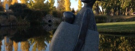 Chapungu Sculpture Park is one of Loveland Local Arts.