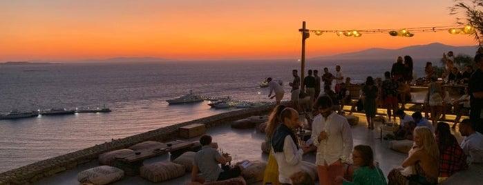 180° Sunset Bar is one of Mykonos.