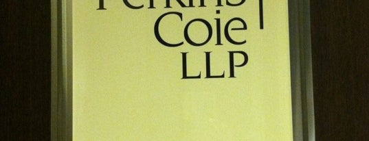 Perkins Coie is one of We.