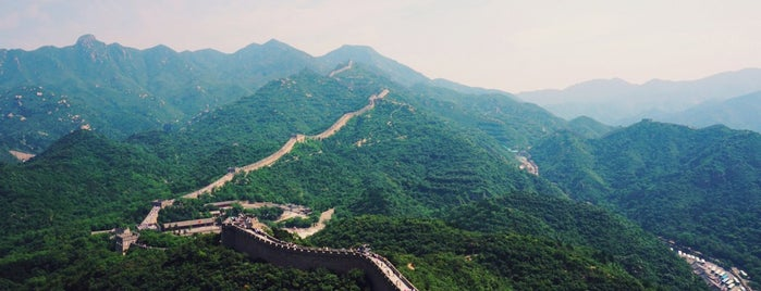 The Great Wall at Badaling is one of Crazy Places.
