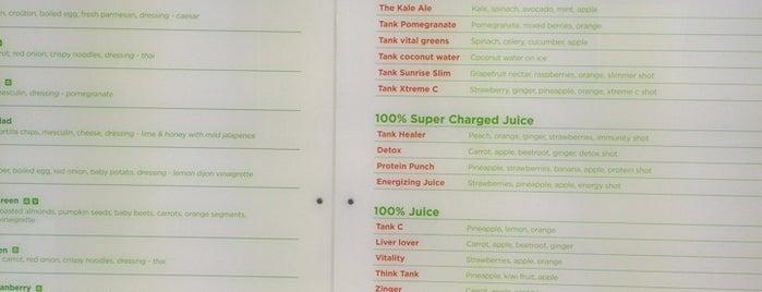 Tank Juice Bar is one of Posti che sono piaciuti a Ah-liv.