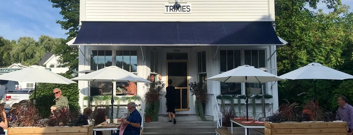 Trixie's is one of Door county.