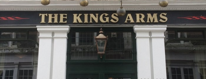 The King's Arms is one of Lugares favoritos de Carl.