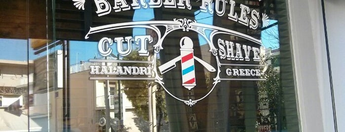 Barber Rules is one of Athens.