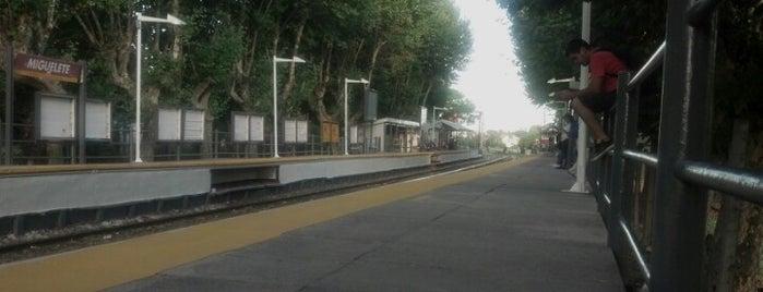 Estación Miguelete [Línea Mitre] is one of Estaciones Tren Linea Mitre J.L. Suarez.